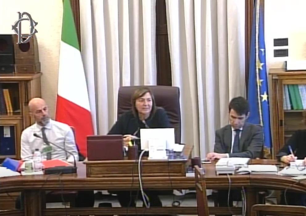 Tavolo della Presidenza della XI Commissione Lavoro - On. Polverini, Presidente as.So.Di.Pro., Dott. Giuseppe Pesciaioli